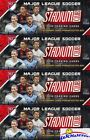 (4) 2018 Topps Stadium Club MLS Soccer Factory Sealed HOBBY Box-8 AUTOGRAPH
