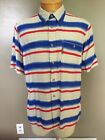 Vintage Giorgio Armani Jeans Button Down Short Sleeve Shirt Mens Size Large A6