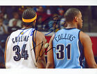 JARED & JASON COLLINS Authentic Hand-Signed