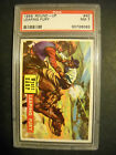 1956 WESTERN ROUNDUP CARD #40 GRADED PSA 7 NM
