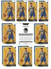 2018 Panini Golden State Warriors NBA Champions Basketball Cards 12