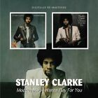 STANLEY CLARKE - MODERN MAN/I WANNA PLAY FOR YOU 2 CD NEW+