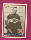 Georges Vezina Cards, Rookie Card and Memorabilia Guide 39