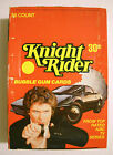 1982 KNIGHT RIDER FULL WAX BOX (36 CARD PACKS) DONRUSS **MINT**