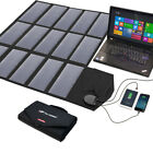 18V 100W Portable Solar Panel Solar Power Charger For Laptop Tablets Cellphone