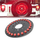125 25xLED Spare Tire 3rd Brake Red Lamp For Jeep Wrangler JK JKU 07 2017 NEW