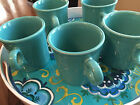 FIESTAWARE Turquoise Coffee Cups 3 Available 10 0z.