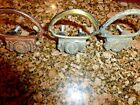 VINTAGE DOOR PULLS HANDLE SAME DESIGN 3 DIFFERENT FINISHES