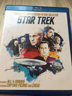 Star Trek The Next GeneratIon All 4 Movies 4 Disc Blu ray NEVER WATCHED