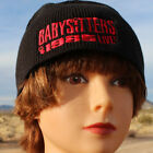 The Babysitters - Beanie Hat Embroidered Red Black