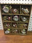 Pottery Barn Mixed Mercury Christmas Ornaments New Set of 12