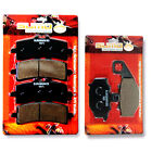 Kawasaki Front Rear Performance Brake Pads Z1000R J (ABS/310mm Discs) 2017-2018