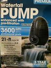 SmartPond 3600 GPH Submersible Waterfall Pond Pump pre filtration pool water