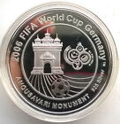 Laos 2006 Soccer World Cup 15000 Kip Silver Coin,Proof