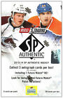 2013-14 Upper Deck SP AUTHENTIC NHL Hockey Hobby Box