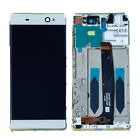 YES For Sony Xperia XA Ultra F3213 LCD Touch Screen Digitizer Glass Frame White
