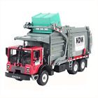 Mini Butterball 1 24 Alloy Diecast Material Transporter Garbage Truck Vehicles