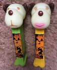 PEZ 2018 Barky Brown & Barkina Halloween Glow In Dark Full Size Dispensers