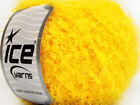 Lot of 8 Skeins ICE POLAR SOFT Hand Knitting Yarn Yellow