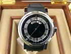 Breguet Marine Automatic Big Date 39mm Stainless 5817ST Black Dial -Box/Papers-