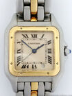 Genuine Cartier Panthere 18K Gold Stainless Steel Ladies Vintage Wrist Watch