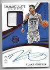 Blake Griffin 2017-18 Panini Immaculate Collection Patch Auto Red #1 15