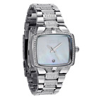Nixon Small Player Silver Tone Mother of Pearl Dial Women's Watch A300-710 NEW