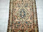 10X3 1940s GORGEOUS ANTIQUE HAND KNOTTED 70+YRS MALAYERR ORIENTAL RUG RUNNER