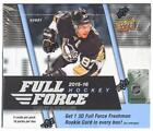 2015 16 UPPER DECK FULL FORCE HOCKEY HOBBY BOX - MCDAVID RC!