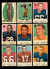 1959 TOPPS FOOTBALL LOT OF 23 DIFFERENT NM *144293