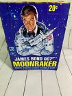 RARE 1979 Topps James Bond 007 Moonraker Trading Cards Full Box Unopened cards