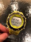 Adidas Stainless Steel Waterproof Neon Yellow Rubber Watch ADH6042