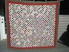 Quilted  -1764 Tiny Squares!