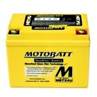 NEW MOTOBATT BATTERY FITS GILERA DNA, RUNNER, SPK, STALKER, STORM SCOOTERS 50CC