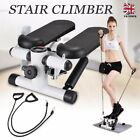 Mini LCD Twist Stepper Legs Exercise Arm Thigh Toner Fitness Stair Steps Machin