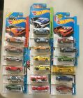 Hot Wheels Lot Of 20 Different Ford Mustangs New In Pack