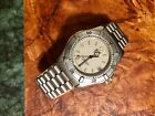 Vintage Tag Heuer Men's Professional Date Watch - 38mm