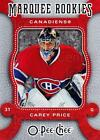 Carey Price Rookie Cards Checklist and Guide 26