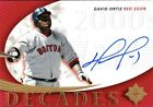 2005 Upper Deck David Ortiz Signature Decades Auto Card Red Sox NM-MT