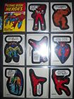 1974 MARVEL COMIC BOOK HEROES COMPLETE STICKER & PUZZLE CARD SET TOPPS *NMMT*
