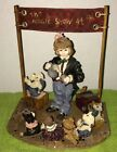 Boyds Bears Amazing Bailey Magic Show at 4 Limited Edition Dollstone 2986
