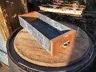 Vintage Industrial Wood / Galvanized Salvaged Drawer Box Rustic Decor 15x5.5x3