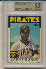 1986 Topps Traded Tiffany Barry Bonds (Rookie Card) (#11T) (All 9.5 Subs) BGS9.5