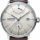 JUNKERS 6060-5 BAUHAUS - BEIGE DIAL STAINLESS STEEL AUTOMATIC POWER RESERVE