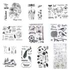 Christmas Transparent Silicone Clear Stamp Cling Seal Scrapbook Embossing Album