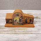 Vintage Nativity Scene Plastic Lighted Indoor Tabletop 60s 70s