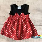 MINNIE MOUSE Dress or Costume Baby Birthday 6 12 18 Months 2T 3T 4T 5T Red Girls