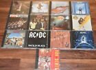 12 AC/DC cd Lot and 1 Bon Scott Back In Black Who Made Ballbreaker Dirty Deeds +