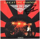 IAN GILLAN BAND Live at the Budokan, DEEP PURPLE Smoke on Water Autograph SIGNED