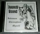Inhuman Visions - Inhuman Throughout Myself CD death metal rare thrash